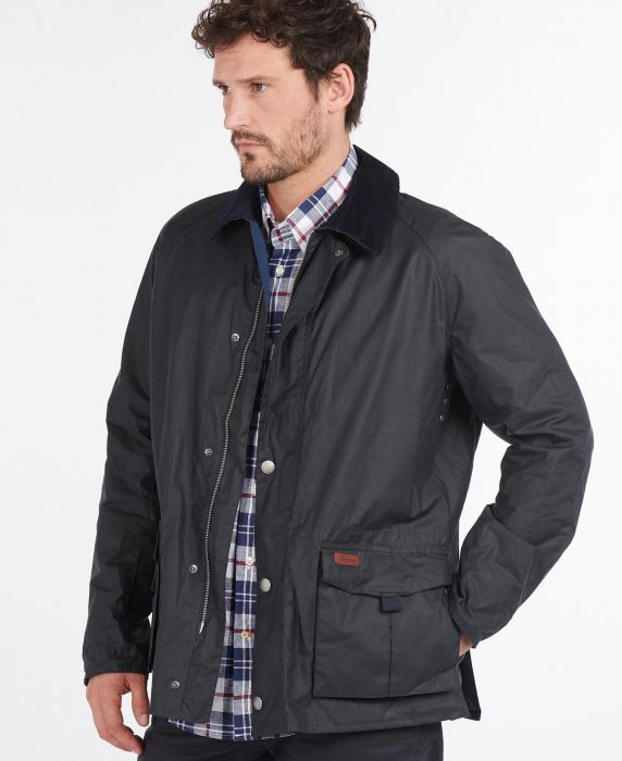 Barbour Alderton Waxed Cotton Jacket