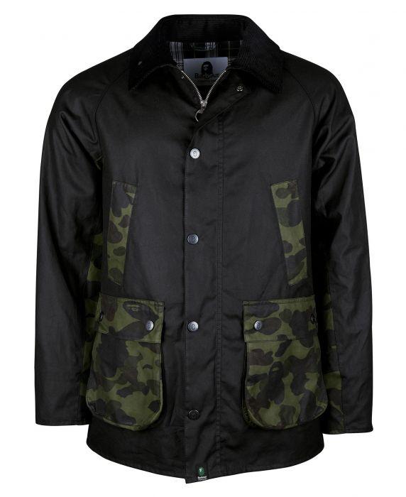 Barbour x BAPE Camo Bedale Wax Jacket