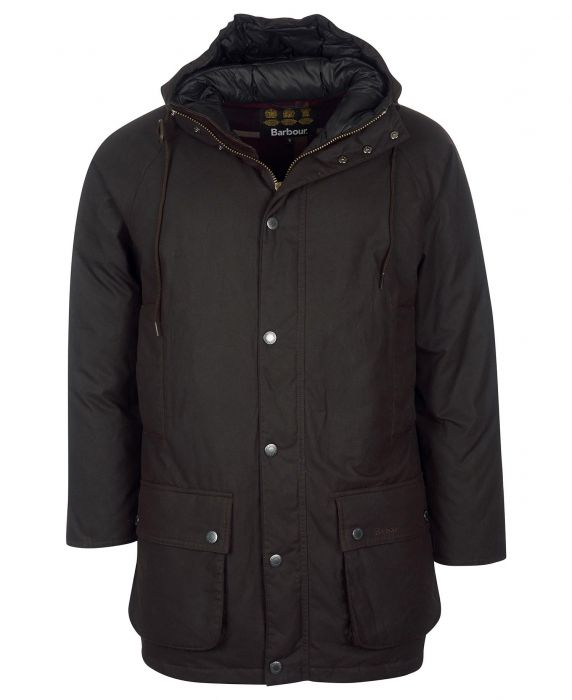 Barbour Hooded Beaufort Wax Jacket