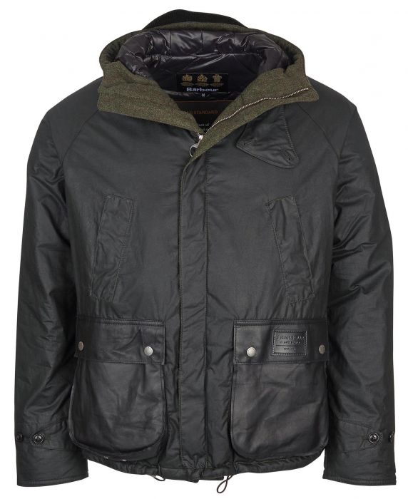 Barbour Gold Standard Soay Wax Jacket