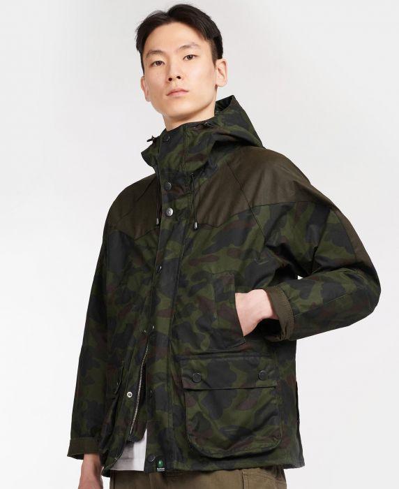 Barbour x BAPE Snowboard Bedale Wax Jacket