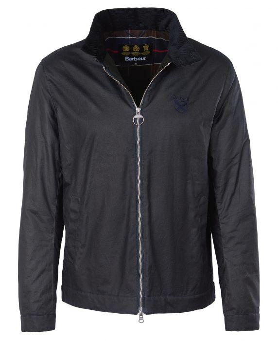 Barbour Crest Herrington Wax Jacket