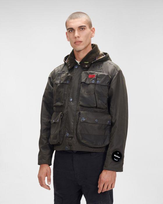 Barbour x C.P. Company 500 Miglia Wax Jacket