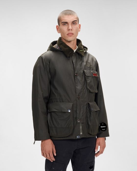 Barbour x C.P Company Thousand Wax Jacket