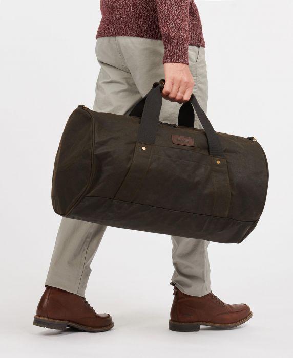 Barbour Explorer Wax Duffle Bag