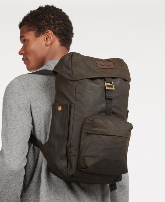 Barbour Essential Wax Backpack