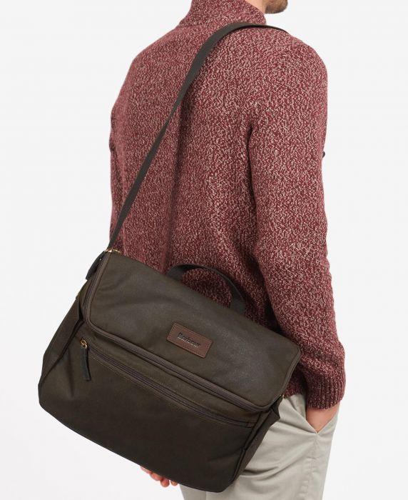Barbour Explorer Wax Cross Body Bag