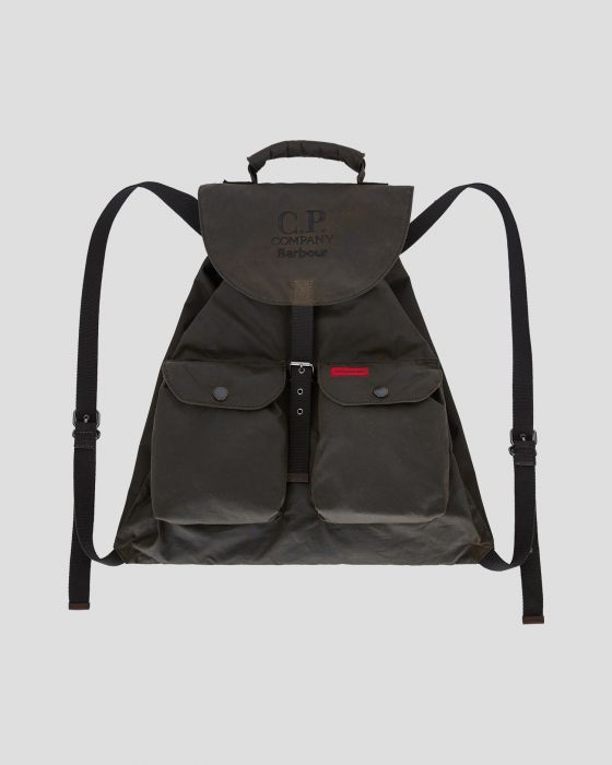 Barbour x C.P. Company Backpack