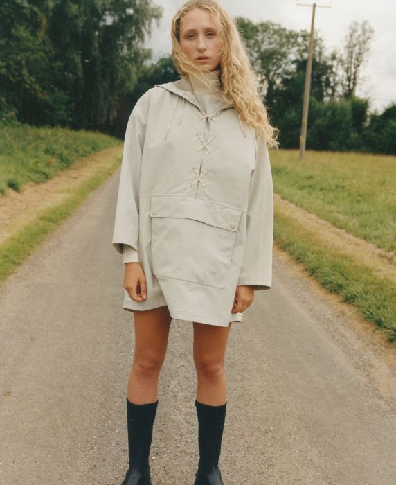 Barbour by ALEXACHUNG Tonal Pip Jacket
