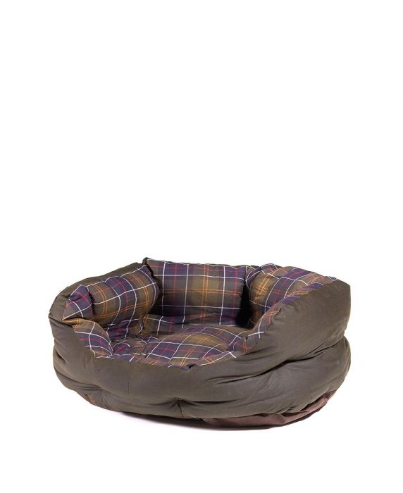 Barbour Wax/Cotton Dog Bed 24in