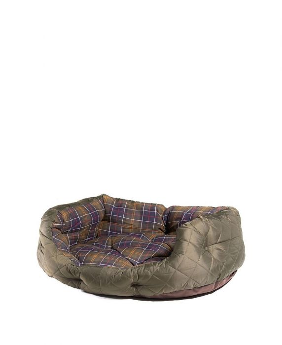 Barbour Quilted Dog Bed 30in