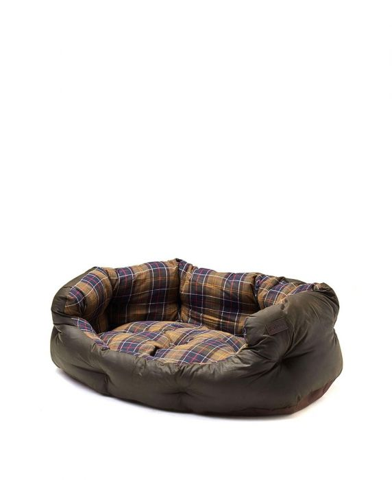 Barbour Wax/Cotton Dog Bed 35in