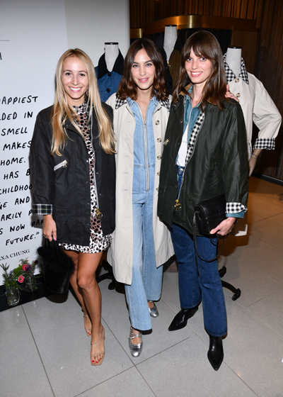 Alexa Chung Event in NYC