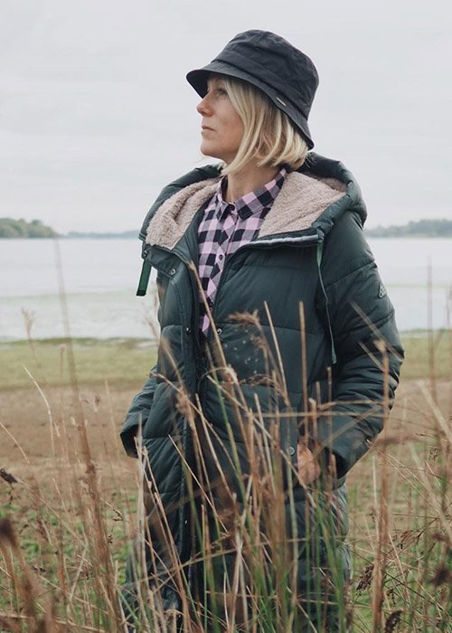 Penny and Nikki wear the Barbour AW20 Coastal collection