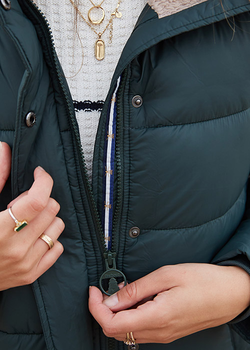 Rosie Butcher wears the Barbour AW20 Coastal collection