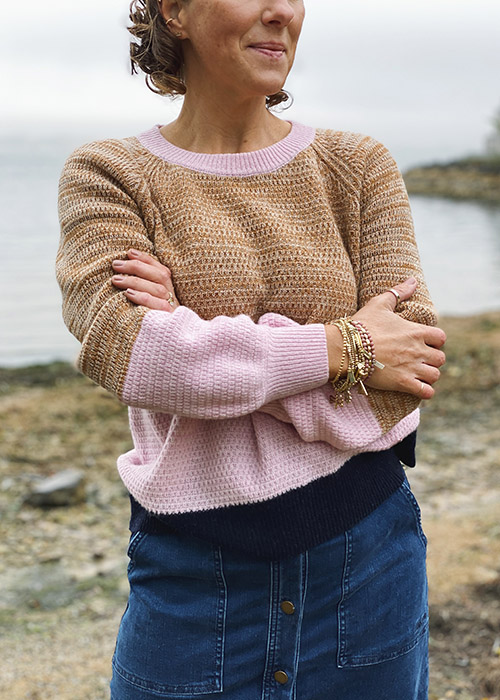 Sallyanne wears the Barbour AW20 Coastal collection