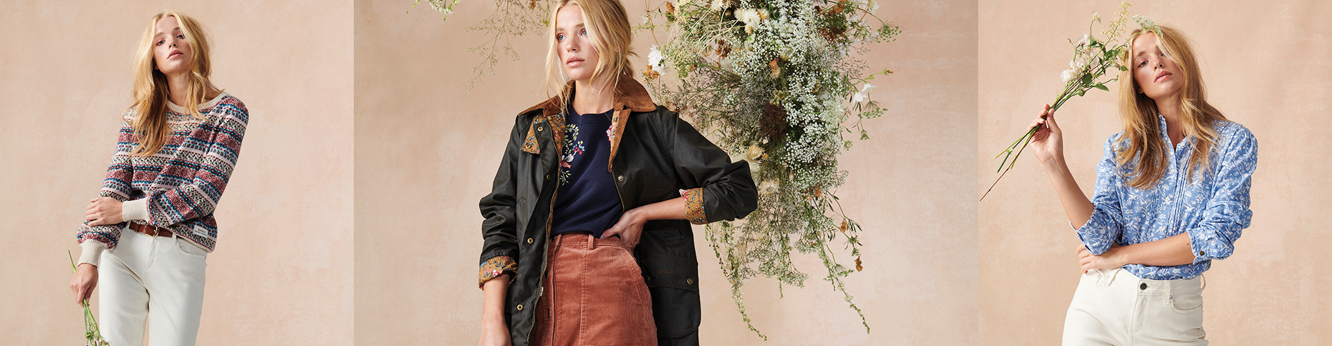 Barbour X Laura Ashley AW20