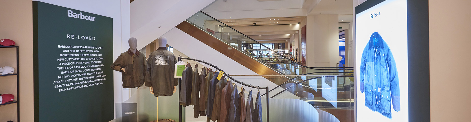 Barbour Re-loved is Launching at Selfridges