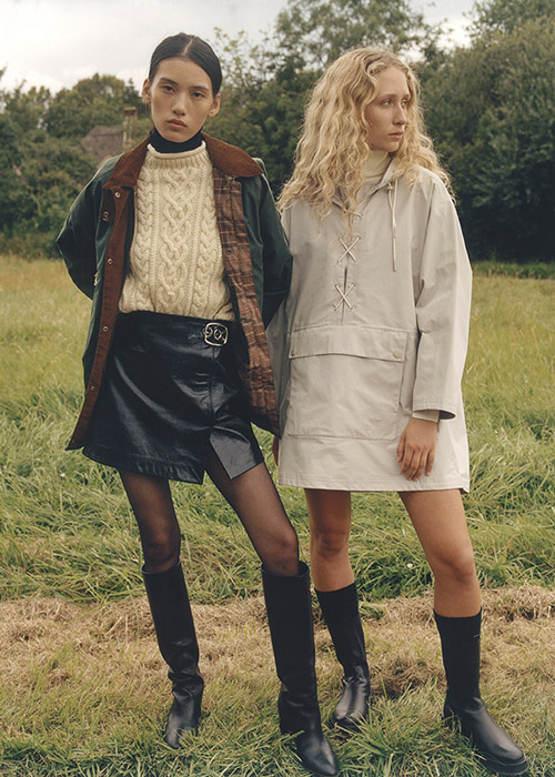 Barbour by ALEXACHUNG AW21 Collection