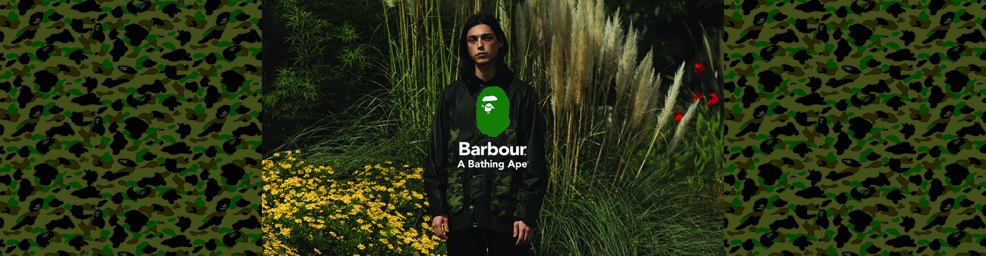 Barbour x BAPE AW21