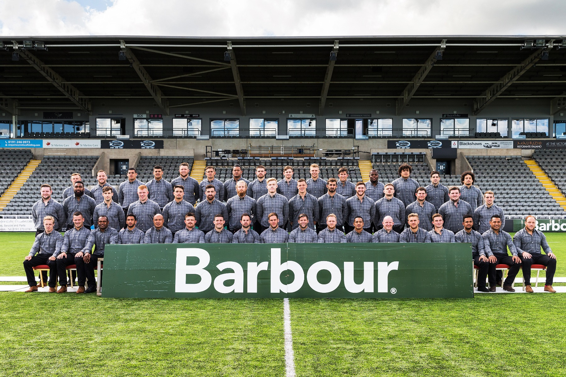 Newcastle Falcons Rugby Team