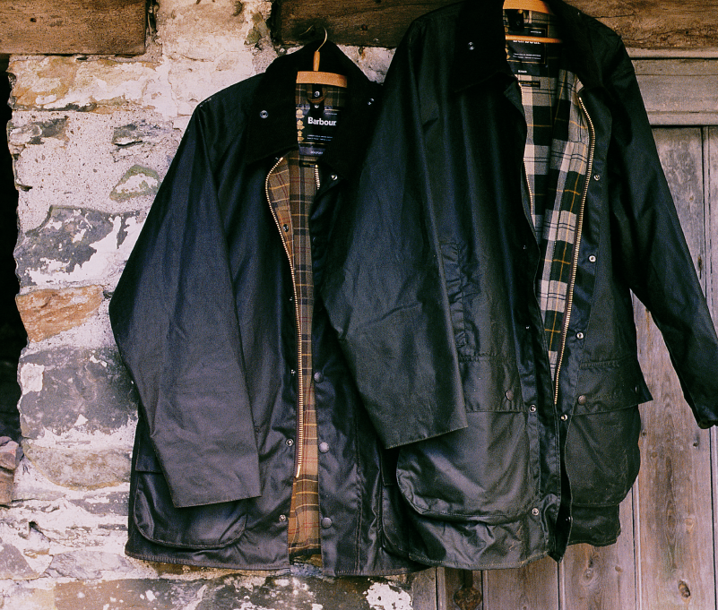 Barbour Beaufort Waxed Jacket 1983