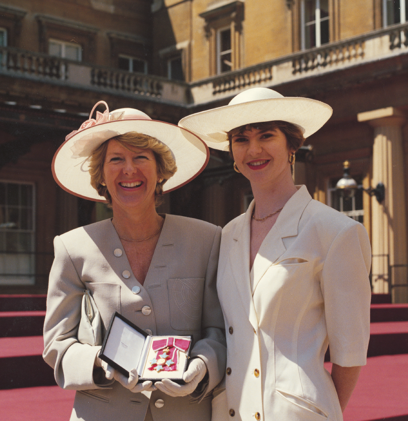 Helen and Dame Margaret Barbour