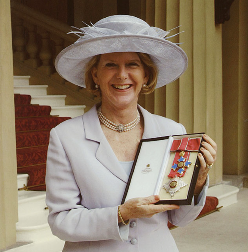 Margaret Barbour Appointed a Dame