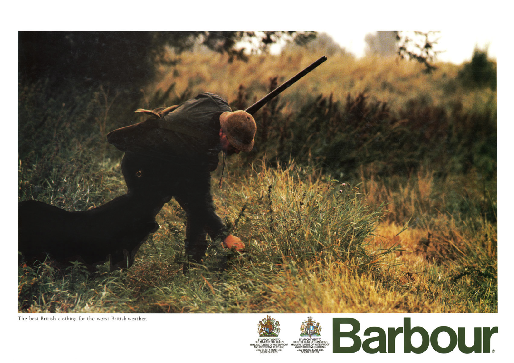 Barbour recieved a second Royal Warrant