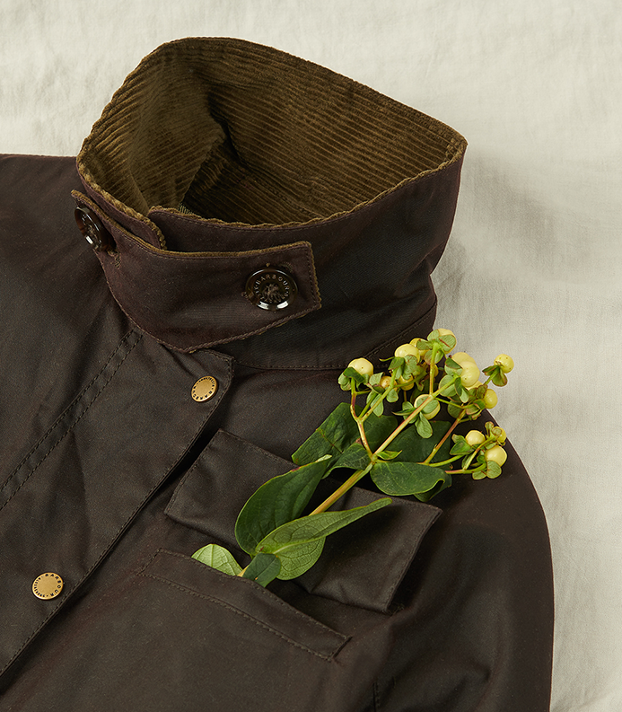 Background image for Rowan Waxed Jacket