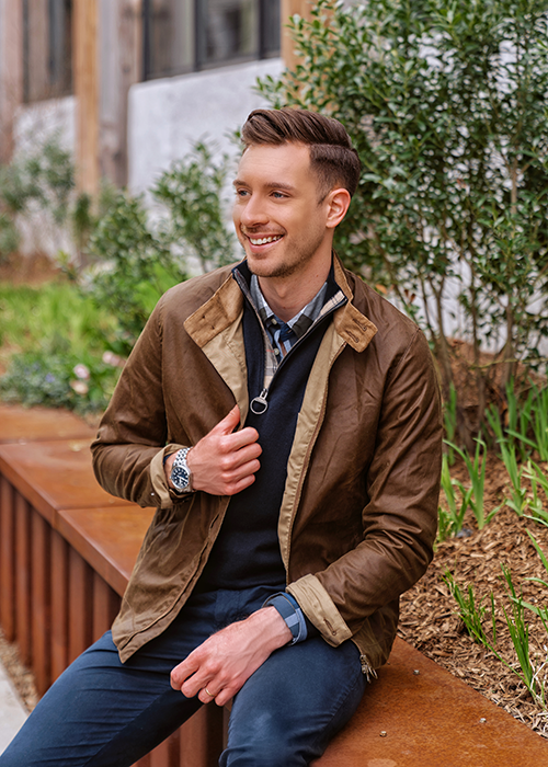 Barbour SS21 Tartan collection styled by Will Taylor