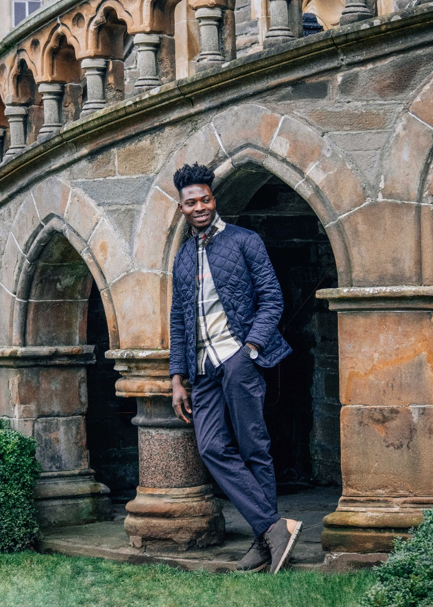 Howéy styles the Men's Tartan SS21 Collection