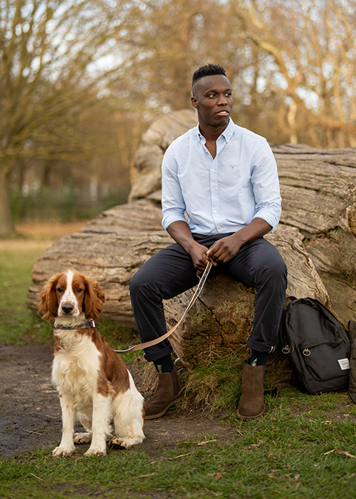 Solly styles the SS21 Barbour Shirt Department
