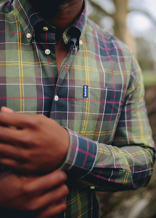 Sul styles the SS21 Barbour Shirt Department