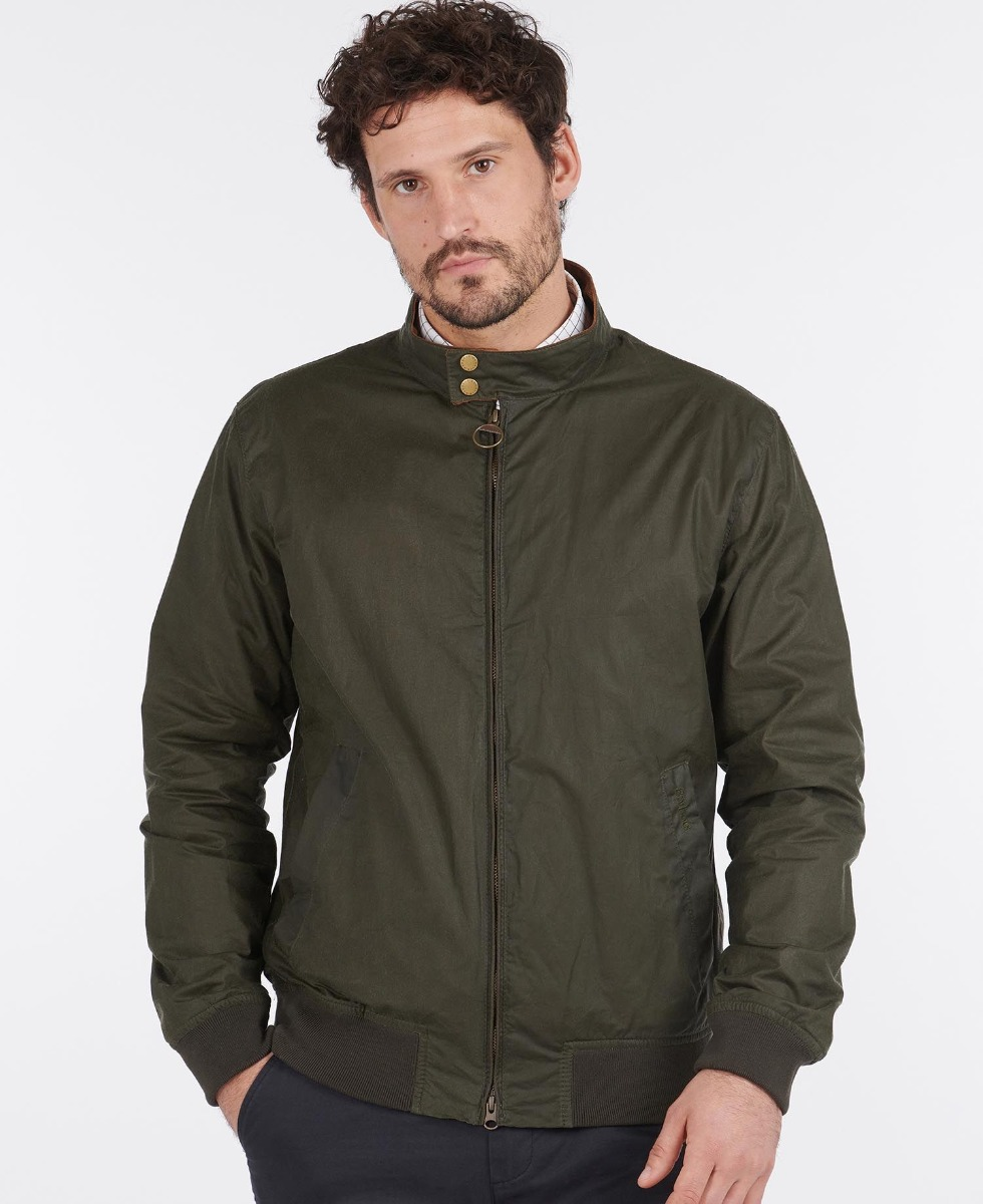 Barbour Royston Waxed Jacket