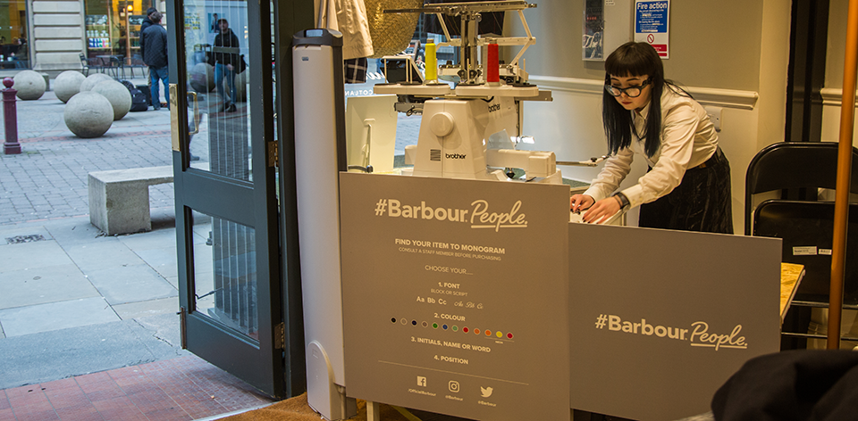 BarbourPeople Store Tour Manchester