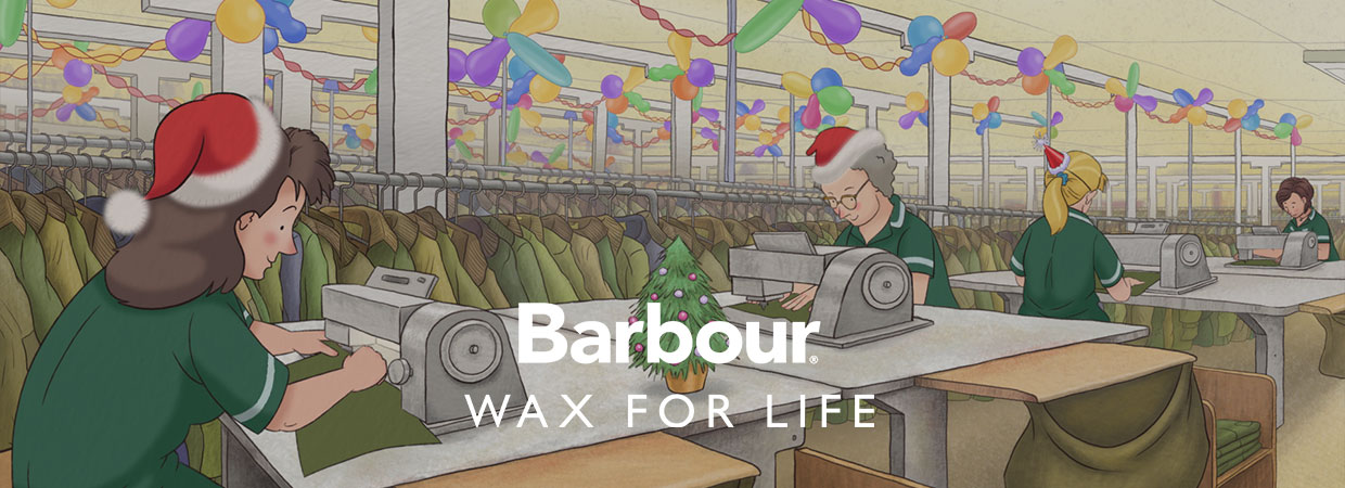 Barbour Wax for Life