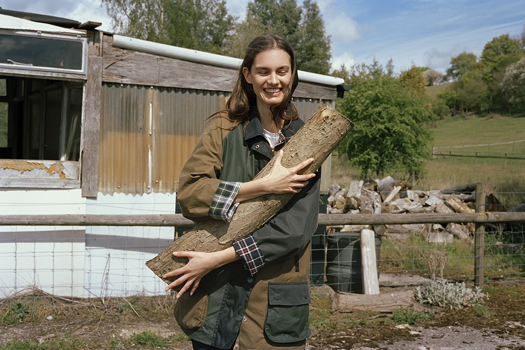 Barbour by ALEXACHUNG collaboration