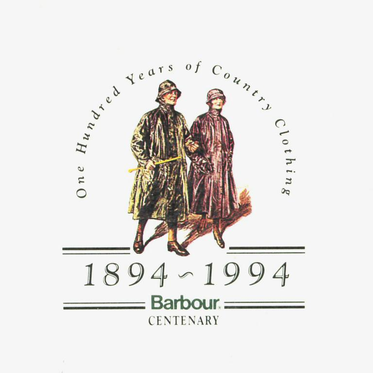 J Barbour & Sons Ltd Centenery