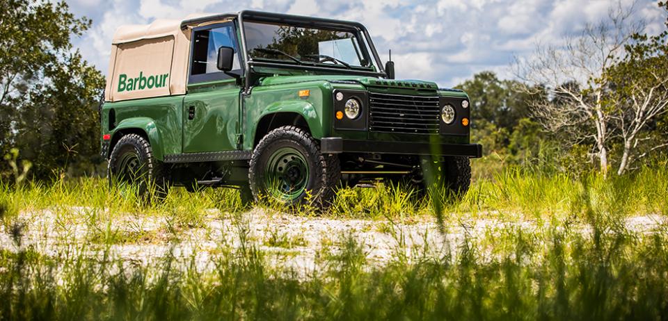 Barbour Land Rover Defender: Restored Vehicle