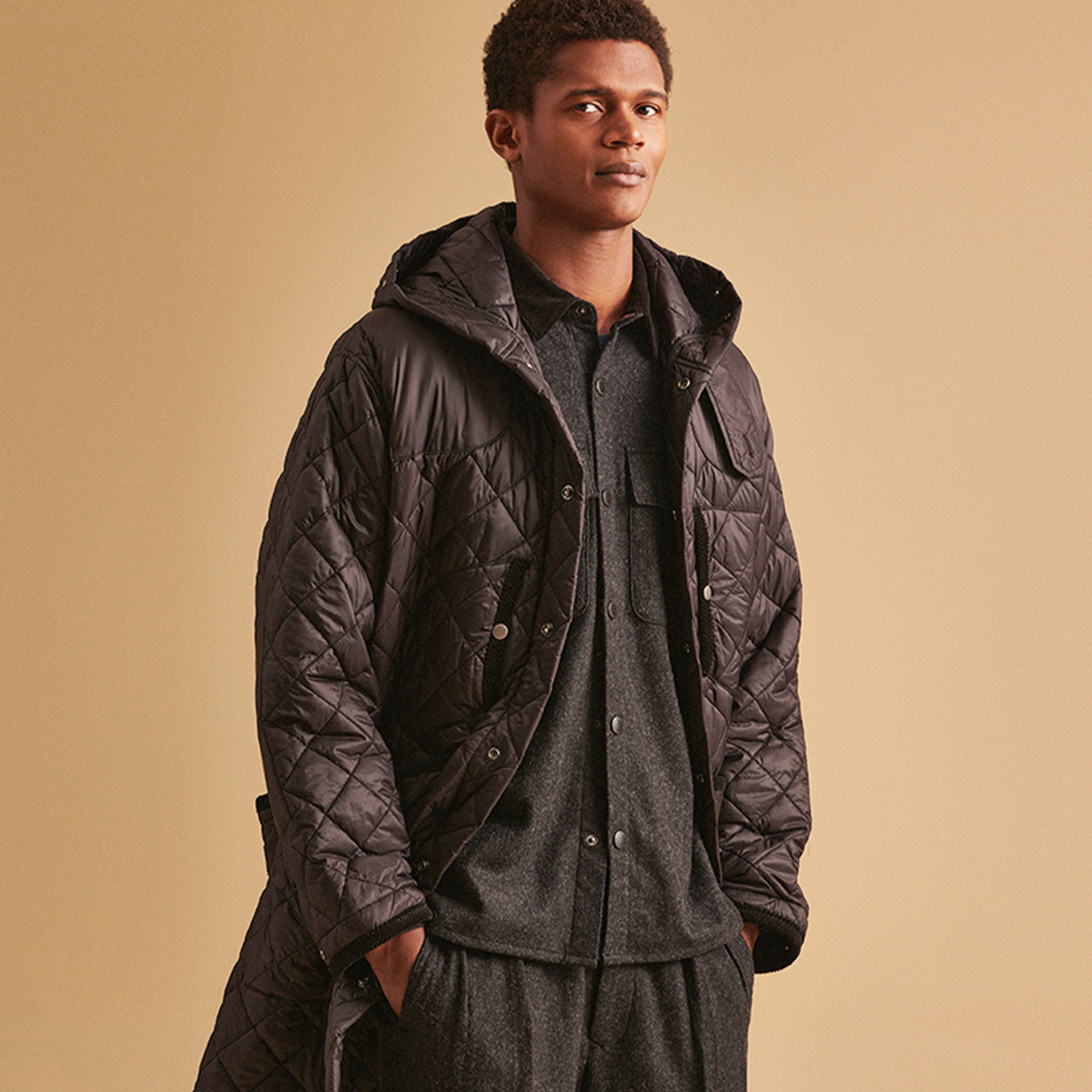 Background image for Men's Quilted Apparel