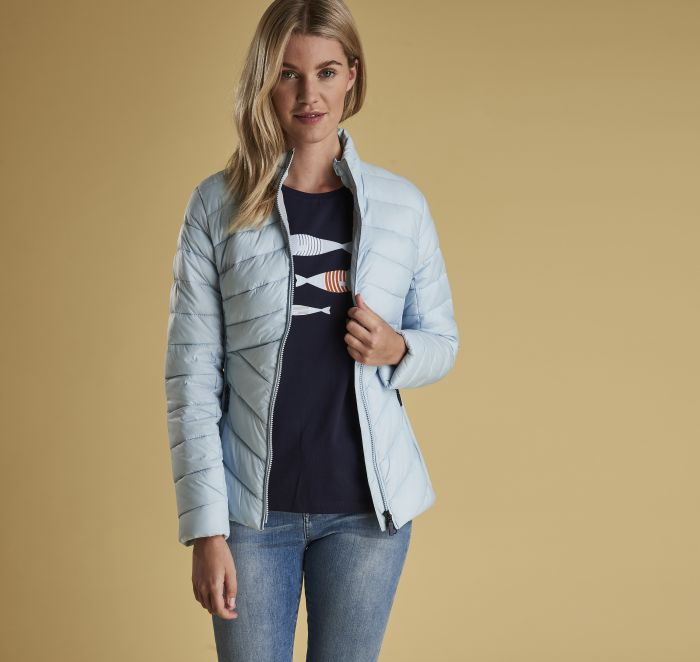 barbour longshore quilted jacket