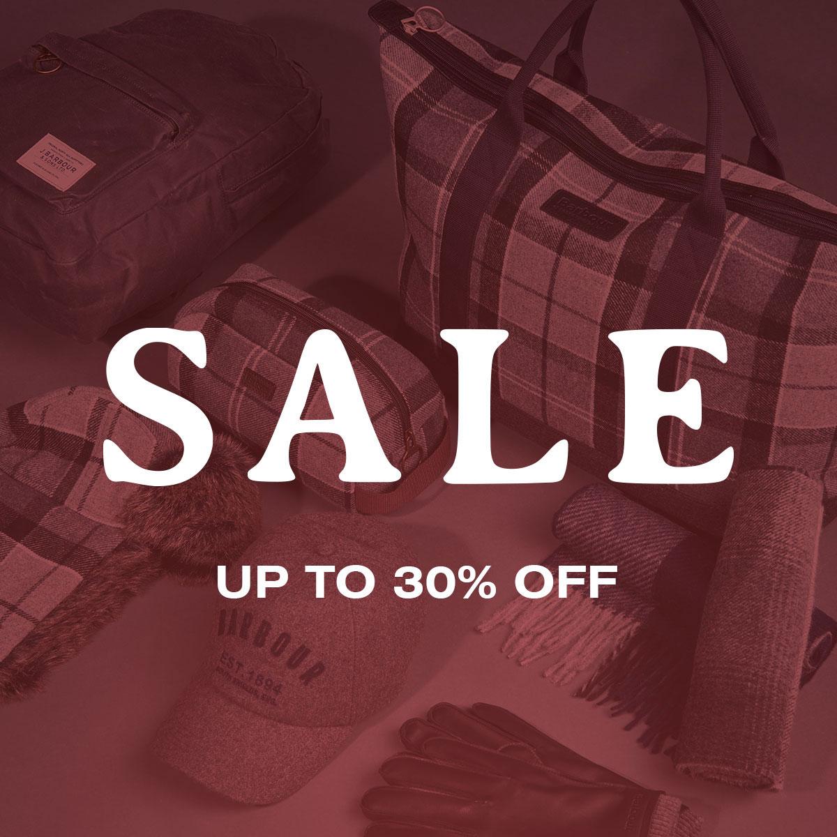 barbour accessories sale