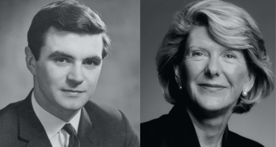 Background image for Fourth Generation: John Barbour and Dame Margaret Barbour