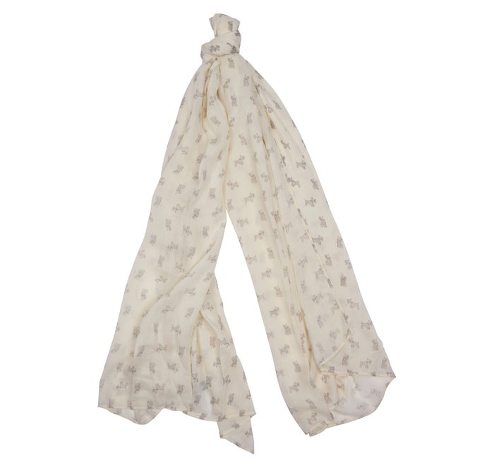 Barbour Dog Print Wrap