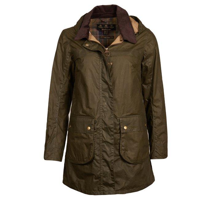 Barbour Lightweight Sherwood Waxed Cotton Jacket