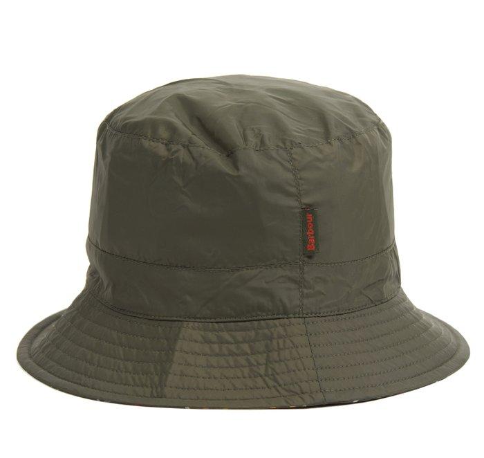Barbour Waterproof Reversible Bucket Hat