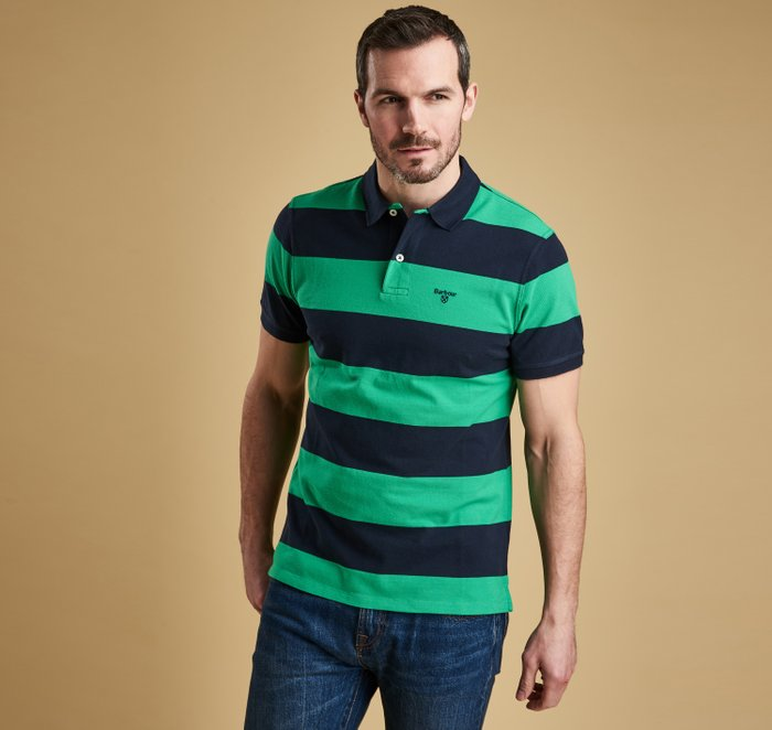Barbour Harren Striped Polo Shirt