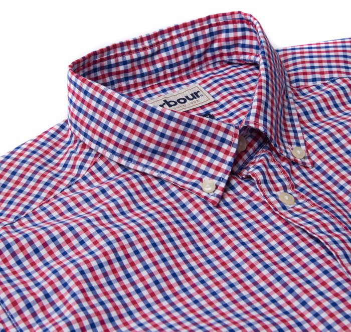 Barbour Gingham 1 Tailored Fit Shirt