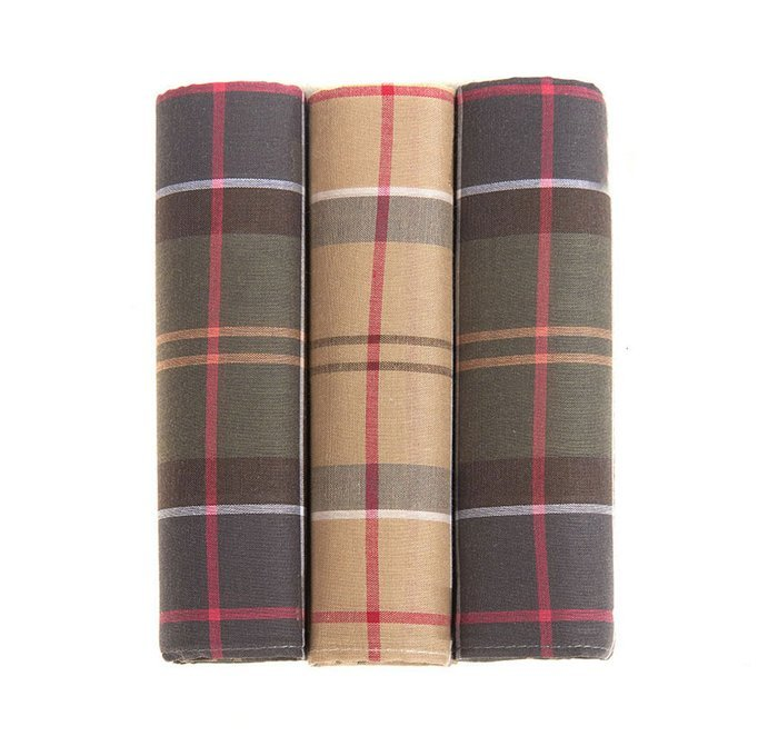 Barbour Handkerchief Gift Box Set